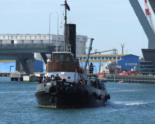 ST Yelta cruising on the Port River