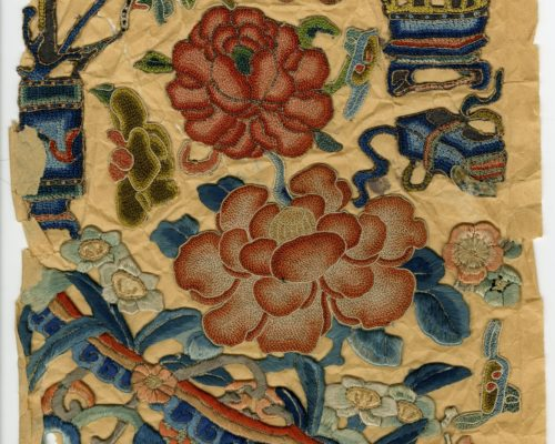 Chinese decorative embroidery